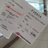 Photo taken at Philippine Airlines by Xiane Q. on 7/22/2012