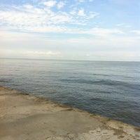 Photo taken at Pantai Morib by Lam Y. on 7/8/2012
