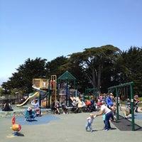 Photo taken at Alta Plaza Park by Jake G. on 7/12/2012