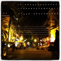 Photo taken at Espanola Way Village by Jenechka P. on 7/19/2012