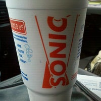 Photo taken at SONIC Drive In by Anna H. on 7/23/2012