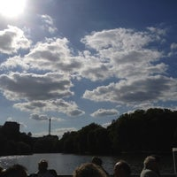 Das Foto wurde bei Bootshaus Stella am Lietzensee von Florian F. am 8/27/2012 aufgenommen