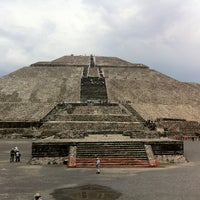 Photo taken at Zona Arqueológica de Teotihuacán by Starbuck C. on 6/30/2012