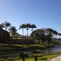 Photo taken at Praia Clube by Ludmila B. on 8/19/2012