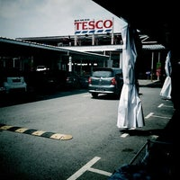 Photo taken at Tesco by Last C. on 7/21/2012