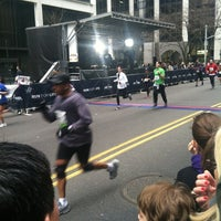 Photo taken at NYRR NYC Half 2012 - Finish Line by Matt H. on 3/18/2012