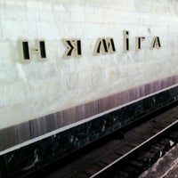 Снимок сделан в Станция метро «Немига» пользователем Vadim 4/6/2012