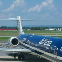 Photo taken at Lehigh Valley International Airport (ABE) by JOSHUA W. on 8/2/2012