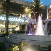 Photo taken at Mall Arauco Maipú by Ximena L. on 8/18/2012