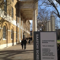 Photo taken at Saatchi Gallery by Nico M. on 2/19/2012