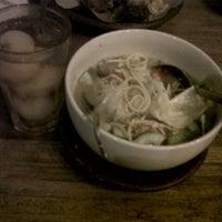 Photo taken at Dapoer Ngeboel - masakan kampoeng djawa by Kiky S. on 8/1/2012