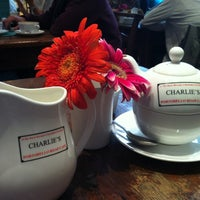 Photo taken at Charlie's Café by Carlos Elipe (Chilipe) I. on 7/14/2012