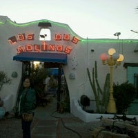Photo taken at Los Dos Molinos by Carrie O. on 2/26/2012
