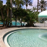 Photo taken at Garden Pool by Tara H. on 6/15/2012