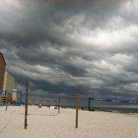 Photo taken at Sharky's Beachfront Restaurant by SecretsGrrl A. on 7/22/2012