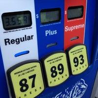 Photo taken at Exxon by Sergio C. on 8/4/2012