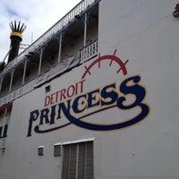 Photo taken at Detroit Princess by Jennifer W. on 3/1/2012