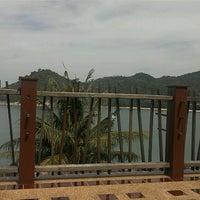 Photo taken at Panviman Resort Koh Phangan by Andrew B. on 4/28/2012