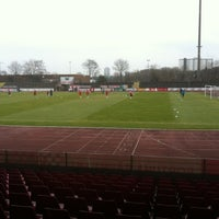 Photo taken at Südstadion by Jan B. on 3/3/2012
