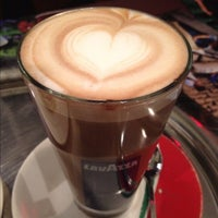 Photo taken at Caffe Lavazza @ Eataly by Built F. on 3/4/2012