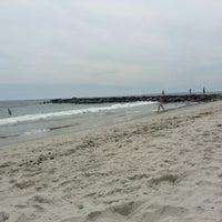 Photo taken at Rockaway Beach - 86th Street by Logan H. on 8/7/2012