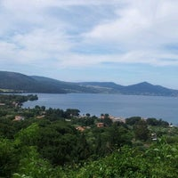 Photo taken at Lungolago Bracciano by Loretta C. on 6/6/2012