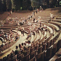 Photo taken at Teatre Grec by Ana Maria M. on 7/28/2012
