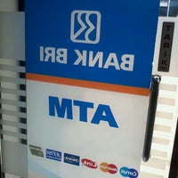 Photo taken at atm bri by Eby M. on 5/30/2012