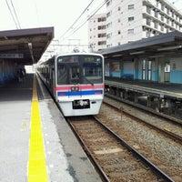 Photo taken at Keisei Sekiya Station (KS06) by TachiSilver on 6/10/2012