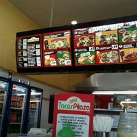 Photo taken at Tacos Paza by Luis M. on 4/4/2012