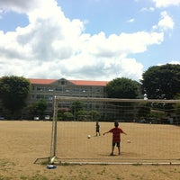 Photo taken at 盛岡市立大慈寺小学校 by Gen K. on 7/8/2012