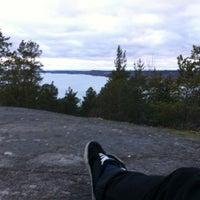 Photo taken at Ansiokallio by Petteri P. on 4/21/2012
