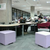 Photo taken at UEA Library by Adrián on 3/4/2012