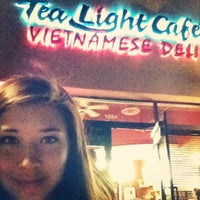 Photo taken at Tea Lite Cafe by Manda W. on 2/25/2012