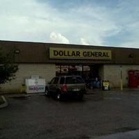 Photo taken at Dollar General by Matt B. on 8/30/2012