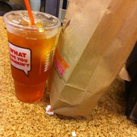 Photo taken at Dunkin Donuts by Peachumzs H. on 8/9/2012