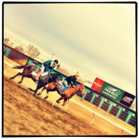 Photo taken at The Horses at Northlands Park by Andy H. on 4/3/2012