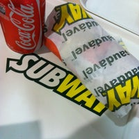 Photo taken at Subway by Aline Nepomuceno on 3/23/2012