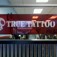 Photo taken at True Tattoo by Billie E. on 6/4/2012
