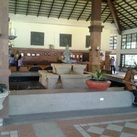 Photo taken at Rajamangala Pavilion Beach Resort by Farah I. on 6/29/2012