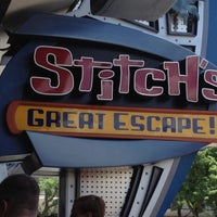 Photo taken at Stitch's Great Escape! by Andrea on 7/8/2012