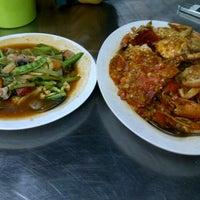Photo taken at Wajir Seafood by Marisa V. on 8/4/2012