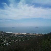 Photo taken at Mirador salina cruz by Luigui R. on 2/15/2012