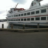 Photo taken at Hy-Line Cruises Ferry Terminal (Hyannis) by Beverly B. on 8/9/2012