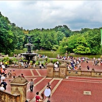 Photo taken at Bethesda Fountain by Lisa B. on 9/2/2012