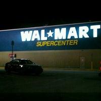 Photo taken at Walmart Supercenter by Rebecca B. on 2/12/2012