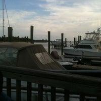 Photo taken at Dockside Restaurant & Bar by David R. on 4/18/2012