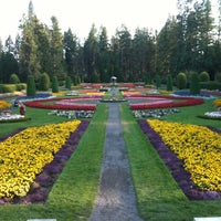 Photo taken at Manito Park by Joey D. on 9/9/2012