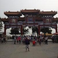 Photo taken at 昆明湖 Kunming Lake by Grammysita on 8/30/2012