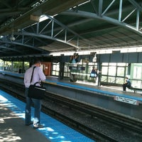 Photo taken at CTA - Davis by Kenneth I. on 6/19/2012